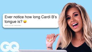 Cardi B Goes Undercover on Reddit, Twitter and YouTube | Actually Me | GQ thumbnail