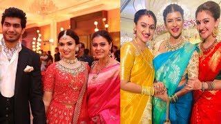 Celebrities At Soundarya Rajinikanth Wedding Photos | Mohan Babu | Rajasekhar | Rajinikanth | Meena