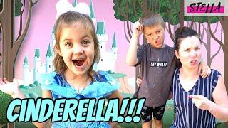 CINDERELLA escapes her EVIL Step Family