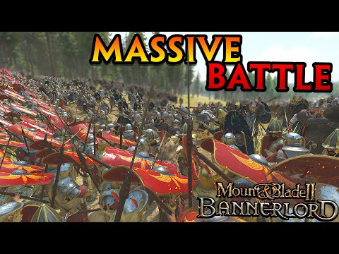 The LARGEST ROMAN Battle In Mount & Blade II Bannerlord |