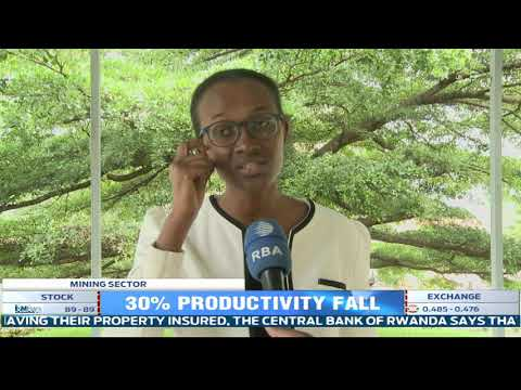 Mining sector in Rwanda register 30% fall in productivity. Sector players explain why