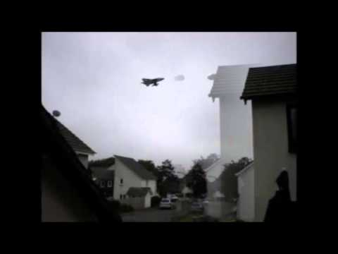 UFO chased by RAF Jet
