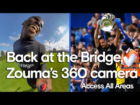 🤣 Zouma Terrorises Teammates With 360 Camera, UCL Trophy Returns To The Bridge | Access All Areas