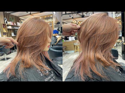 Layer Mullet |Hướng dẫn cắt |Bean Hair Studio
