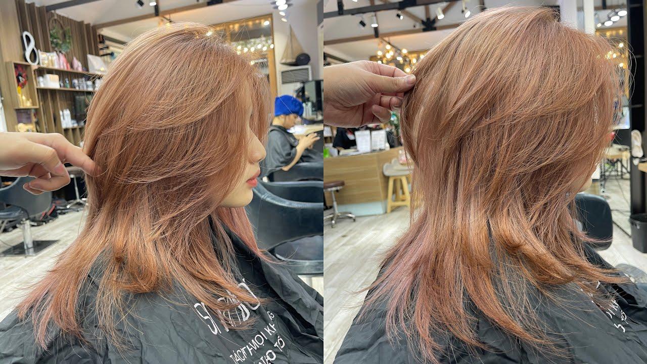 Layer Mullet |Hướng dẫn cắt |Bean Hair Studio | Tổng hợp những kiểu tóc nữ đẹp mới nhất