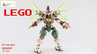 BỘ ĐỒ CHƠI LEGO XẾP HÌNH LẮP RÁP  LEGO ROBOT NINJAGO hh24 7