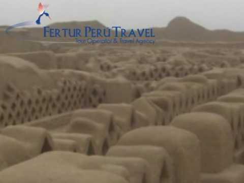Chan Chan Archaelogical Zone, Trujillo, Peru