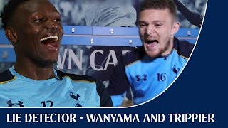 Shock Lie Detector | ft. Victor Wanyama and Kieran Trippier