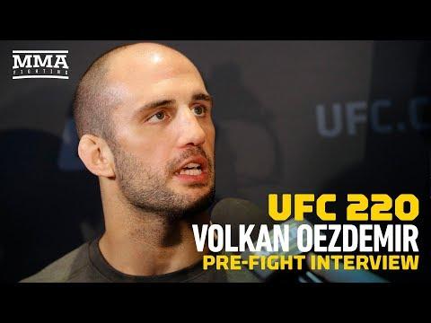 UFC 220: Volkan Oezdemir Feels All Pressure on Daniel Cormier - MMA Fighting