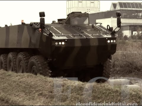 Éste es el Piranha V, el blindado 8x8 que va a comprar el Ejército de Tierra