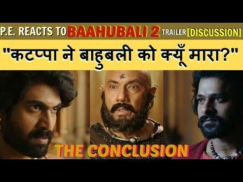 BAAHUBALI 2 - THE CONCLUSION | HINDI TRAILER DISCUSSION  | Prabhas, Rana Daggubati | SS Rajamouli