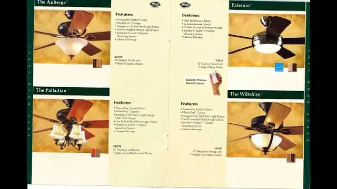 Hunter Ceiling Fans Catalog