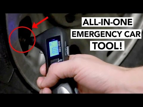 5-in-1 EMERGENCY CAR TOOL - CES 2017 product that could SAVE your life!