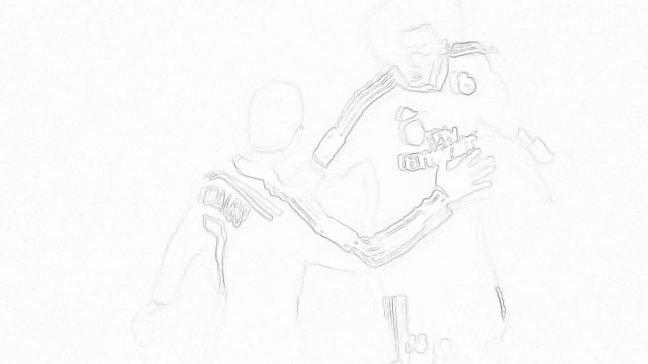 Ronaldo S And Marcelo S Goal Celebration In Drawing Youtube