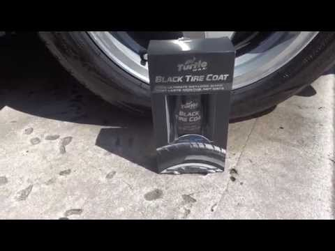 2 Week Update: Turtle Wax Black Tire Coat Long Laste Review And Test Results.