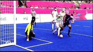 Football 5-a-side highlights - London 2012 Paralympic Games