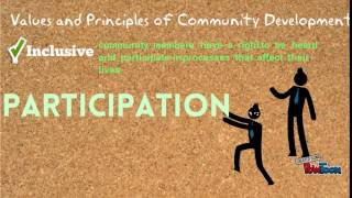 Community Development and its Values & Principles