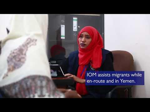 IOM's response to migrants en route to Yemen
