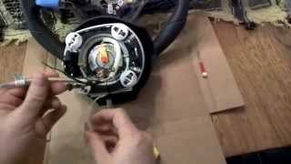 Vw Volkswagen Mk6 Golf Gti Steering Wheel Harness Airbag Removal Swap Replace