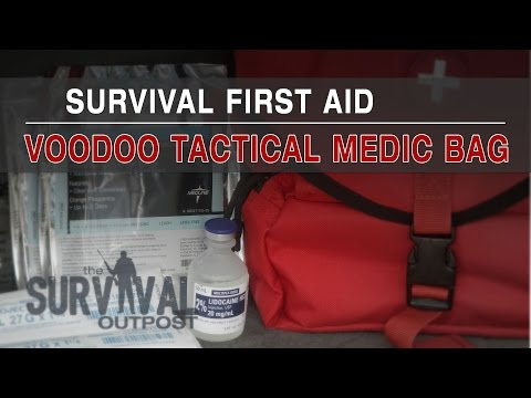 Survival First Aid - Voodoo Tactical Medic Bag / Major Trauma