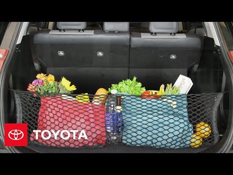 "Cargo Net Organizer - ""Stretch the Net"" - Accessories | Toyota"