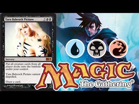 Magic: The Gathering Deck Spotlight - R/U/B Jace Mill with Defenders