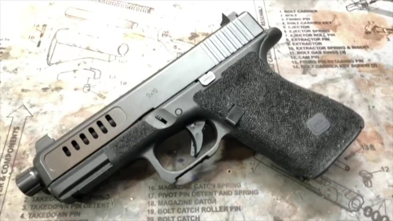 Custom Glock 19 gen 5 Suppressor Ready