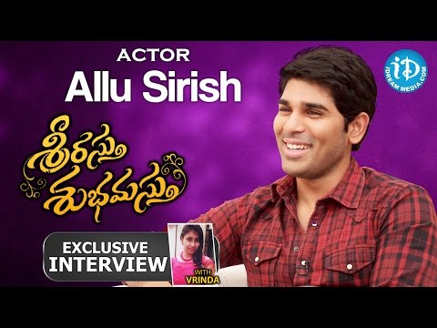 Srirastu Subhamastu Movie || Allu Sirish's Exclusive Interview || Talking Movies with iDream #197