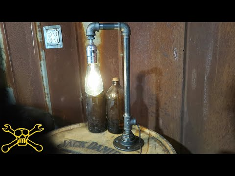 How To Make A Industrial Pipe Lamp