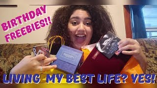 SURVIVING MY BIRTHDAY ON FREEBIES!!! (LIFESTYLE VLOG + MAKE-UP UNBOXING)