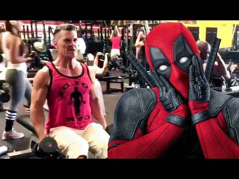 DEADPOOL 2  Josh Brolin Pumping Up for Cable Footage   2018 Ryan Reynolds Marvel Movie HD
