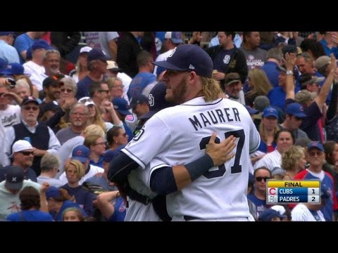 CHC@SD: Maurer seals the Padres' 2-1 victory