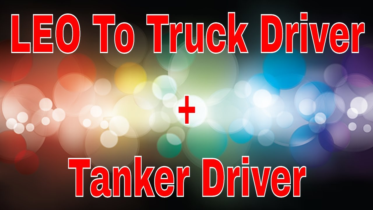 New CDL Trucker Tips | LEO to Trucker | Tanker Drivers | Red Viking