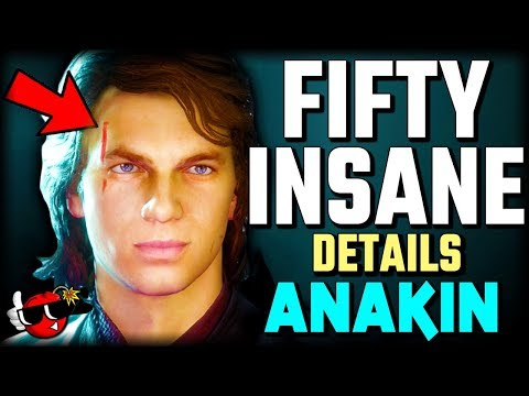 50 INSANE DETAILS About Anakin in Star Wars Battlefront 2 thumbnail