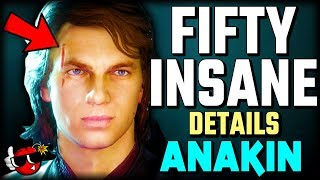 50 INSANE DETAILS About Anakin in Star Wars Battlefront 2