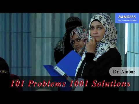 Service Learning - The Why, What & Who  | Dr. Ambar | 101 Problems 1001 Solutions | 8 Angels