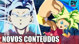 Dragon Ball FighterZ: Trailer Massa Mostra Goku Instinto Superior e Kefla