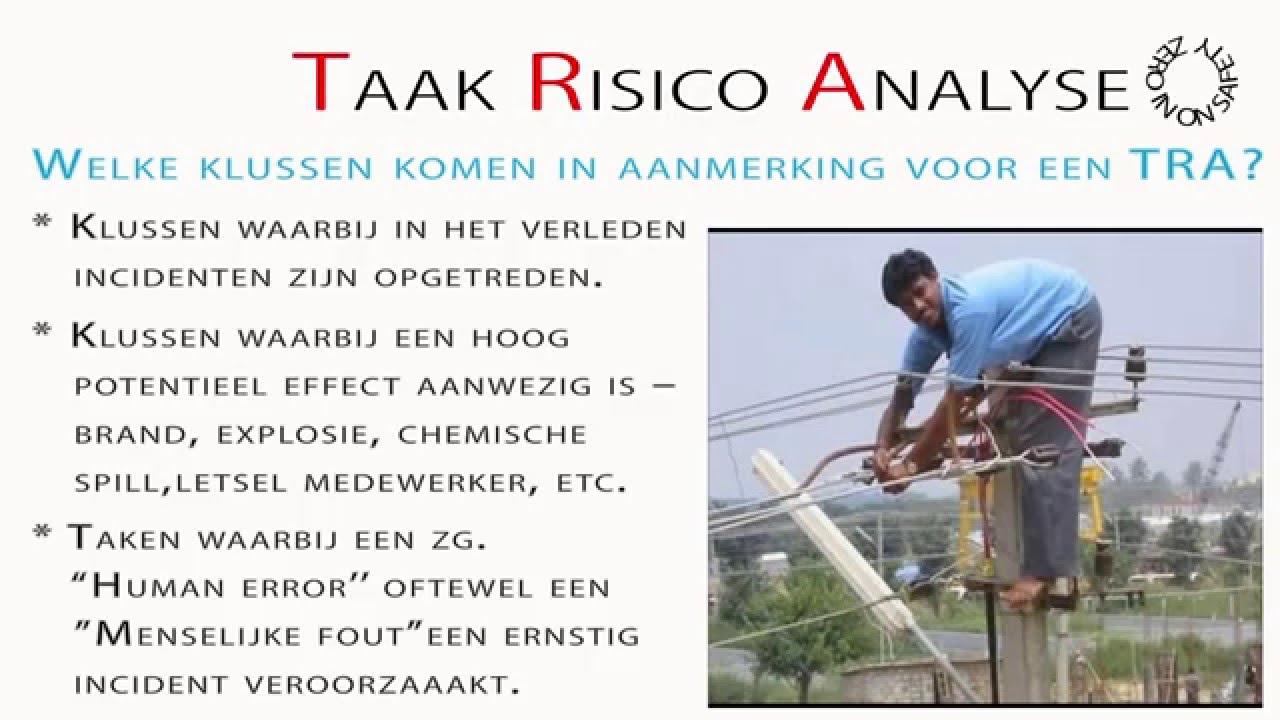 TRA Taak Risico Analyse - YouTube