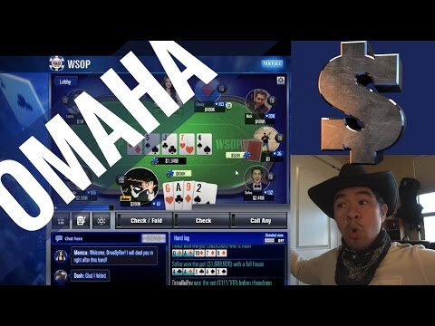 How To Win $4,000,000+ | WSOP Game | Omaha Gameplay + Winning Streak + Strategy