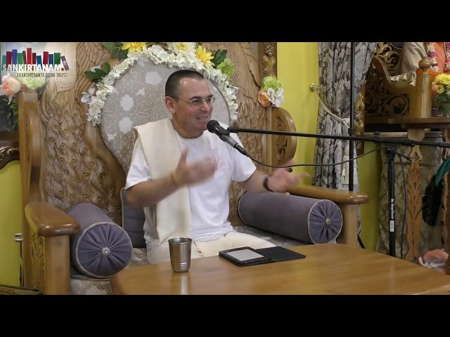 Лекция Баларам прабху на фестивале санкиртаны в Казани