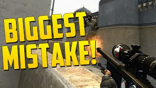 THE BIGGEST MISTAKE EVER! - CS GO Funny Moments in Competitive