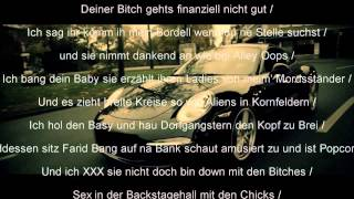 Kollegah & Farid Bang - Dynamit (Lyrics on Screen + HD)