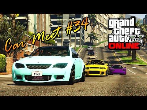 GTA 5 Online - CAR MEET #34