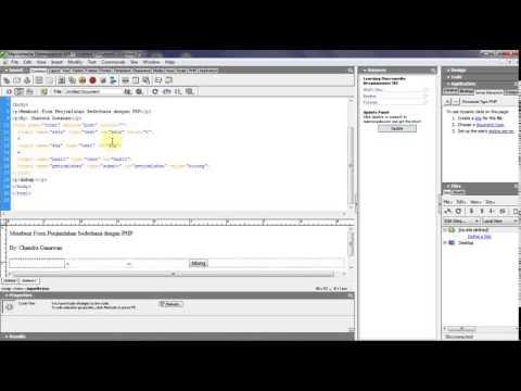 Membuat Aplikasi Sederhana Dengan Php