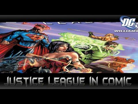 เรื่องราวของ Justice League ในคอมมิค - Comic World Daily