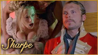 The General's Daughter & Captain Lawrence Are Tortured By Indian Leaders | Sharpe