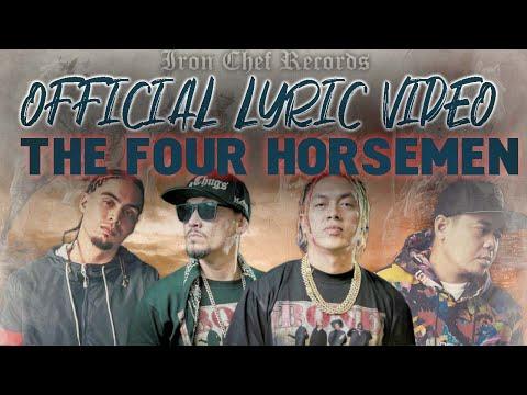 The Four Horsemen - Blaze n' Kane, Denial RC, Gloc-9 ( Official Lyric Video )