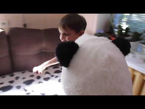 Меня кунг-фу панда хочет убить! Спасите-помогите!)))) Белуха.