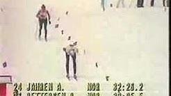 1984 Olympics Cross Country Skiing Women's 10 Km