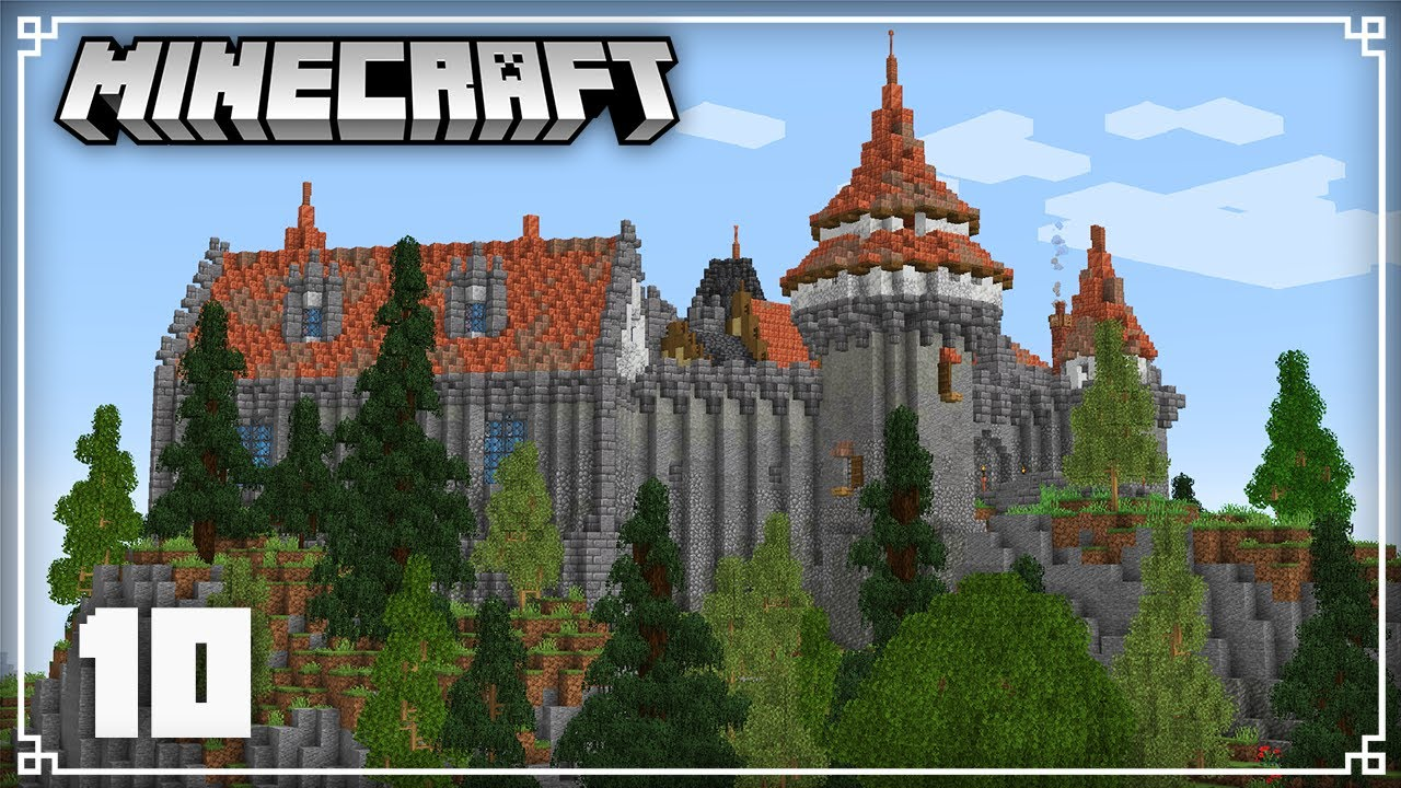 Starting my New Austrian Castle & Exploring the New Snapshots!   Minecraft 1.17 Survival Lets Play